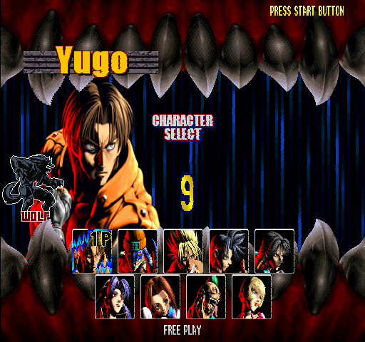Bloody Roar 2 (World) Screenthot 2