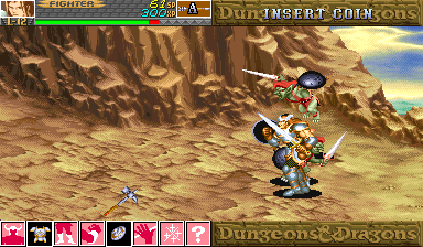 Dungeons & Dragons: Shadow over Mystara (Euro 960619) Screenshot 1