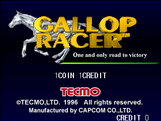 Gallop Racer (Japan Ver 9.01.12)