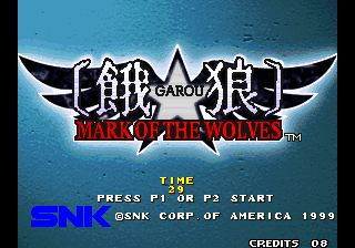 Garou - Mark of the Wolves (set 1)