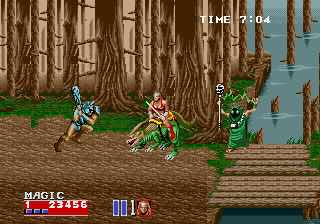 Golden Axe II (Mega Play)