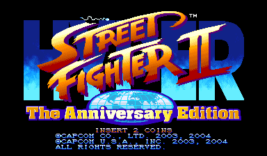 Play <b>Hyper Street Fighter 2: The Anniversary Edition (USA 040202)</b> Online
