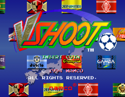 J-League Soccer V-Shoot (Japan)