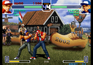 The King of Fighters 2002 Screenshot 2