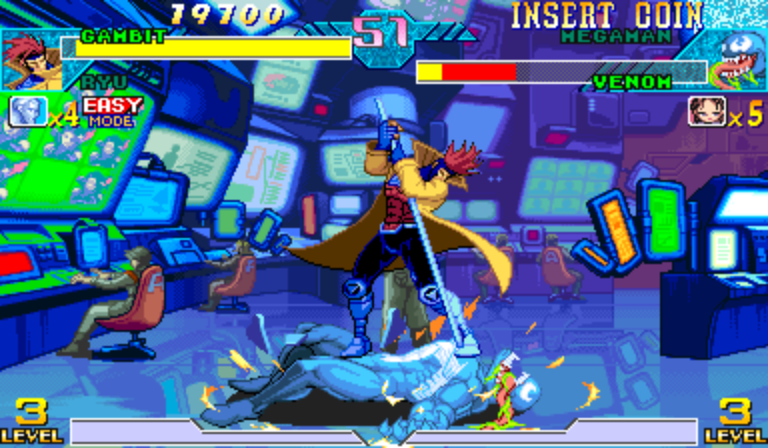 Play Marvel Vs Capcom Flash Game 81