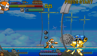 Mega Man 2: The Power Fighters (USA 960708) Screenshot 2
