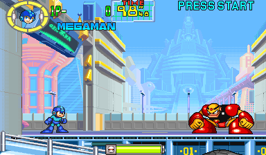 Mega Man: The Power Battle (CPS1, USA 951006) Screenshot 1