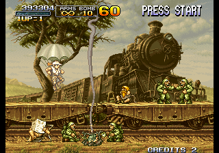 Metal Slug 2 - Super Vehicle-001-II Screenthot 2