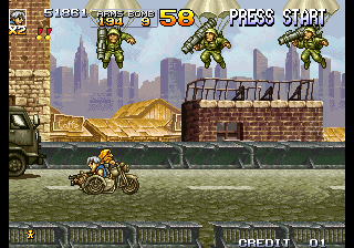 Metal Slug 4 (set 1)