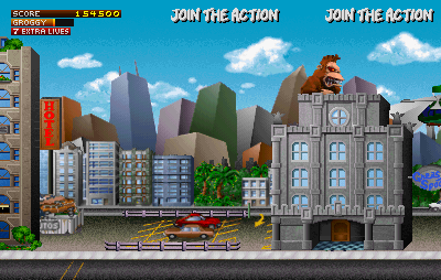 Play Rampage World Tour Online >> Play Rampage: World Tour (rev 1.3) Online MAME Game Rom - Arcade Emulation - Game characters on ...