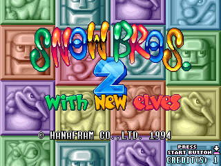 Play <b>Snow Bros. 2 - With New Elves + Otenki Paradise</b> Online