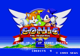 Sonic The Hedgehog 2 (Mega Play)