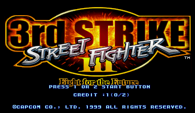Street Fighter III 3rd Strike: Fight for the Future (Euro 990608)
