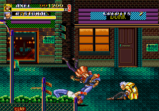 Streets of Rage II (Mega Play)