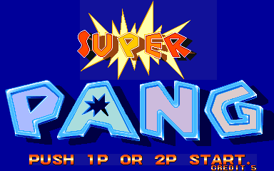 Super Pang (World 900914) Title Screen