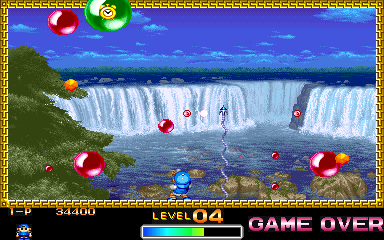 Super Pang (World 900914) Screenshot 2