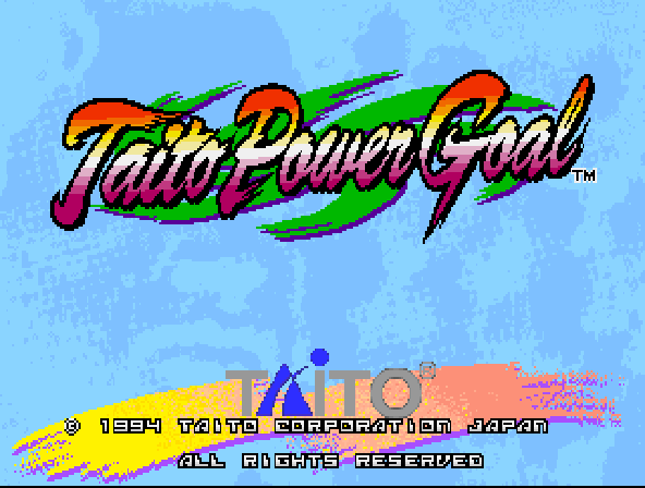 Taito Power Goal (Ver 2.5O 1994+11+03)