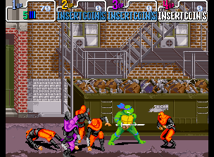 Teenage Mutant Ninja Turtles - Turtles in Time (4 Players ver UAA) Screenshot 2
