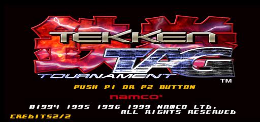 Play Tekken Tag Tournament US TEG3 VERC1 Online MAME Game Rom