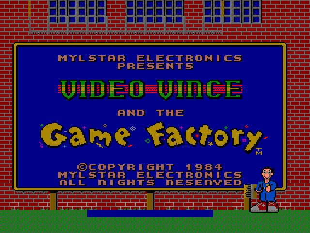 Video Vince and the Game Factory (prototype)