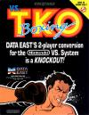 Vs. T.K.O. Boxing