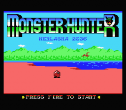 Monster Hunter Title Screen