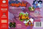 Banjo-Kazooie Box Art Back