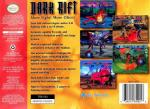 Dark Rift Box Art Back