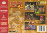 Donkey Kong 64 Box Art Back