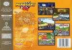 Mario Kart 64 Box Art Back