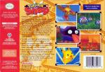 Pokemon Snap Box Art Back
