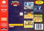 Pokemon Stadium 2 Box Art Back