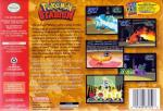 Pokemon Stadium Box Art Back