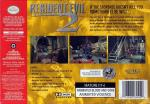 Resident Evil 2 Box Art Back