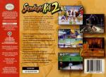Snowboard Kids 2 Box Art Back