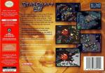 StarCraft 64 Box Art Back