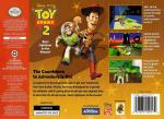 Toy Story 2 Box Art Back