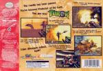 Turok - Dinosaur Hunter Box Art Back