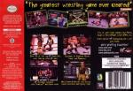 WWF WrestleMania 2000 Box Art Back