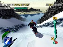 1080 Snowboarding Screenshot 1