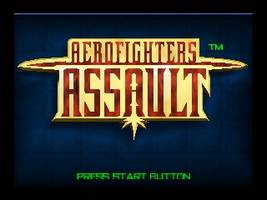 AeroFighters Assault Title Screen