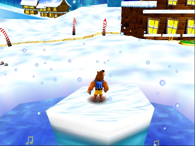 Banjo-Kazooie - Snowglow Village (demo)