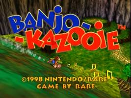 Banjo-Kazooie Title Screen