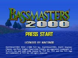 Bassmasters 2000 Title Screen