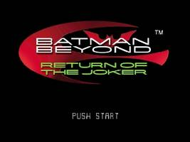 Batman Beyond - Return of the Joker Title Screen