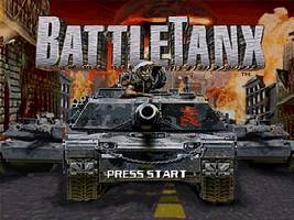 BattleTanx Title Screen
