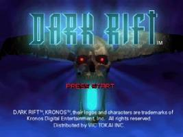 Dark Rift Title Screen