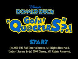 Disney's Donald Duck - Goin' Quackers