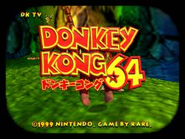 Donkey Kong 64 (J) Title Screen