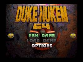 Duke Nukem 64 Title Screen